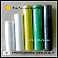 black Plastic PE trash/garbage bags on roll of high quality with factory price
