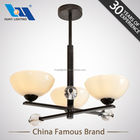High quality interior decoration glass chandelier light vintage hotel chandelier light