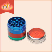 2016 JL-039JA Hot Selling Decorated Manual CNC Teeth Custom Herb Grinder