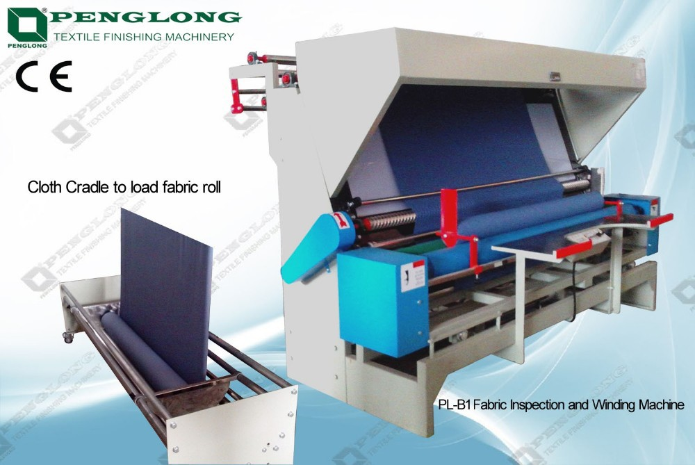 High quality penglong Fabric Inspection Machine/cloth measuring and examining machines