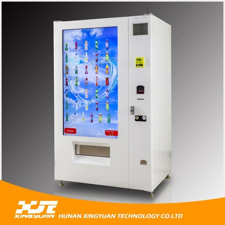China manufacture export quality led promotional screens vending machine