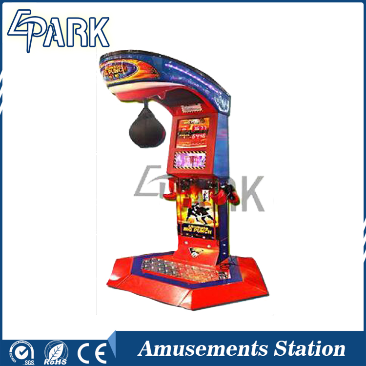 EPARK hot sale coin operated redemption, boxer game machine /game machine interactive boxing games