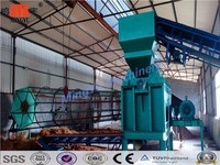 Hot Sale High Output Palm Fiber Extracting Machine Video/pocessing line coconut fiber machine