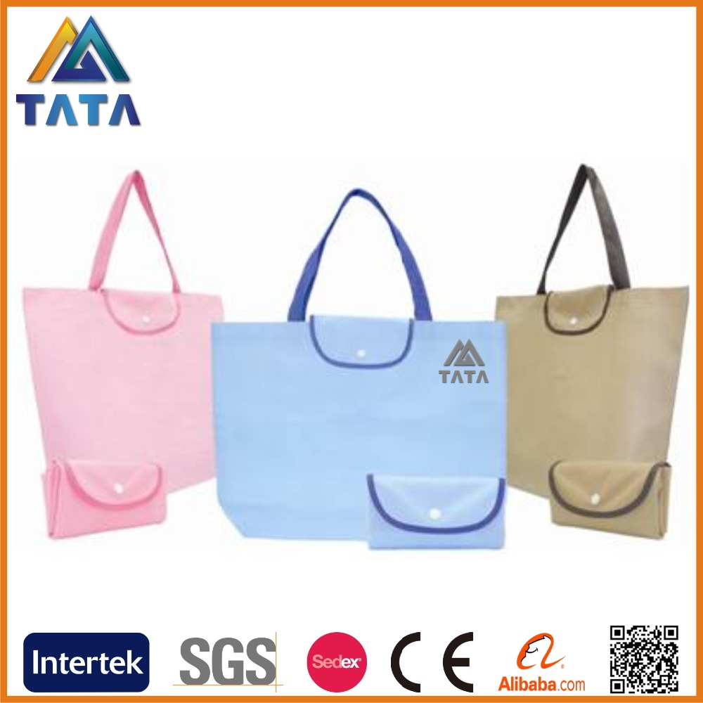 TATA New Arrival Promotion PP Non-Woven Fordable Shopping Bag