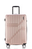 Pink Vintage abs+pc Suitcases Travel Luggage , 3 piece trolley luggage Set B001