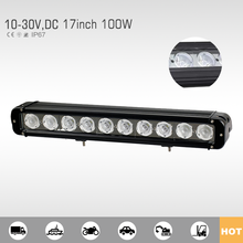 Chinese supplier led light bar 100w 20inch car