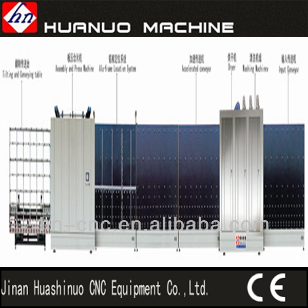 Hot Sale vertical glass washing machine