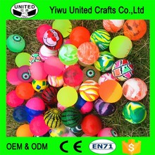 2017 Best Selling Vending Machine Small Rubber Bouncy Balls