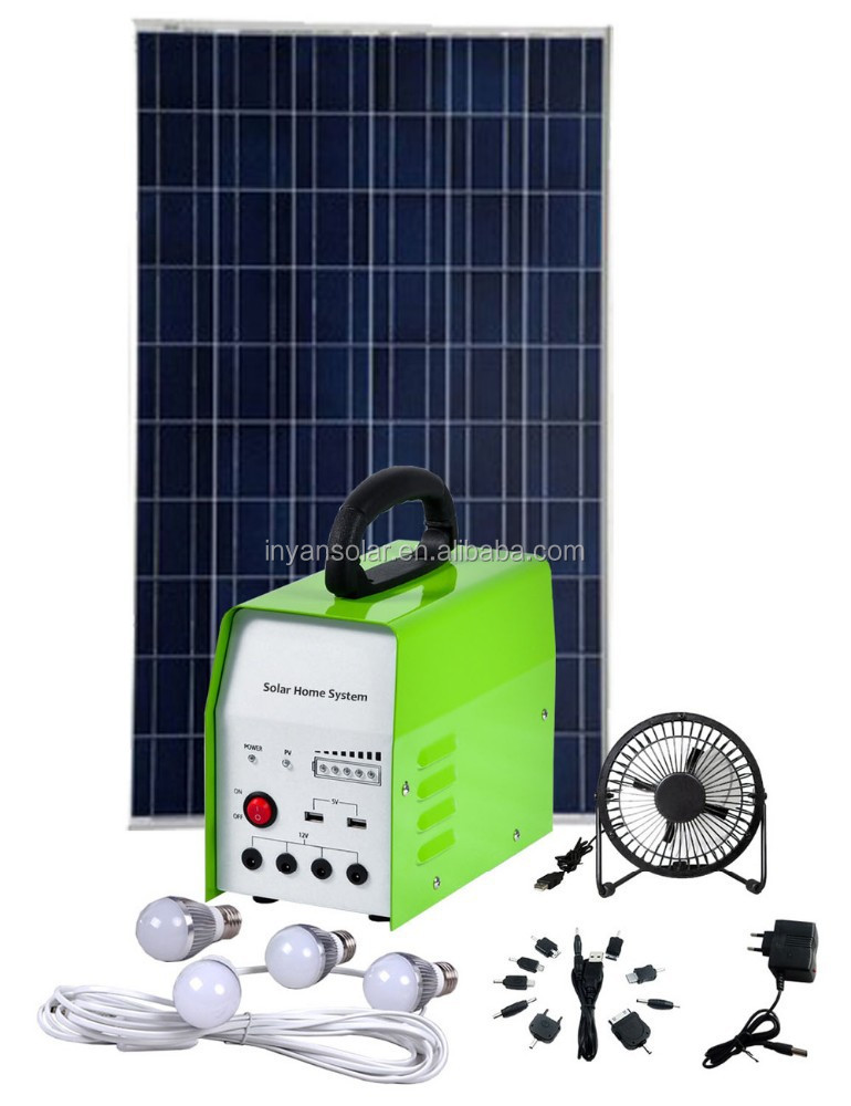 2015 Hot Sell Solar Home Light System 30W, Solar Panel System 30W, Solar Power Generator 30W