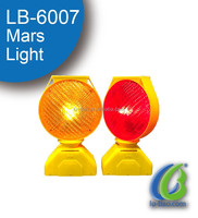 LB-6007 Solar LED Flashing Safety Road Warning traffic Light