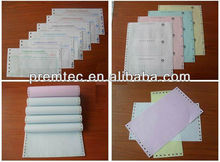Best Sale color carbonless computer continuous printing paper from China