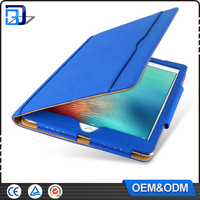 Multifunction cheap price 9.7 inch Tablet Tan design synthetic leather protective case for ipad air