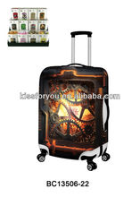2014 Fashion Luggage Cover Net,Luggage Safety Cloth Cover,PVC Plastic Luggage Cover