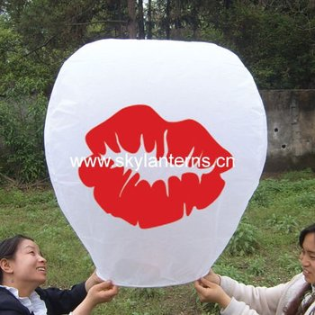 Flying UFO wishing sky lantern