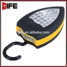 Lightful AAA Battery Operated Strongly Magnetic 25+4 LED Work Flash Light Witk Hook