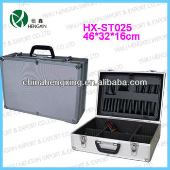 portable tool boxes and cases,aluminum empty cases with dividers