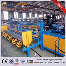 Best Selling Full Automatic Chain Link Fence Making Machine