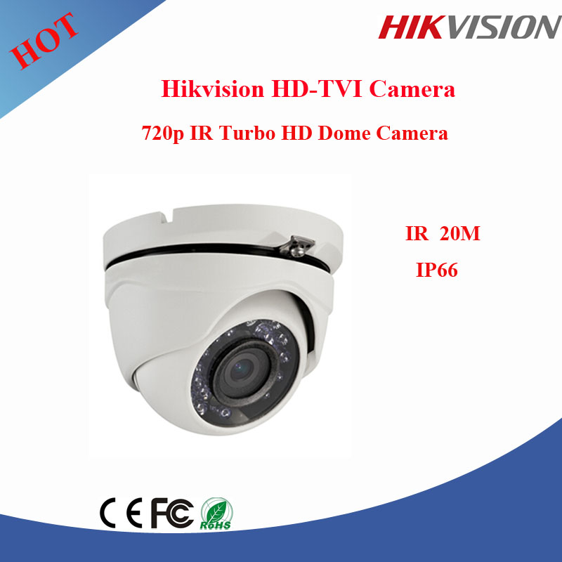 Hikvision Turbo HD Camera 720P Indoor 20m IR Dome Camera DS-2CE56C0T-IRM
