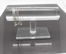 Clear acrylic bracelet and bangle display stand