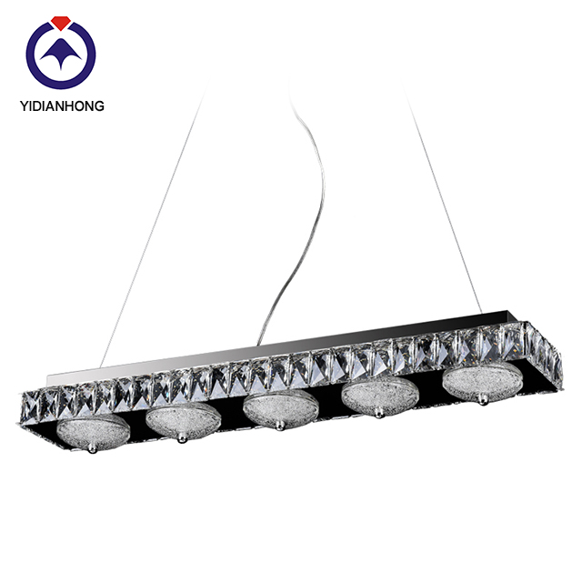 China light factory Wholesale Modern Crystal Chandelier pendant <strong>lamp</strong>