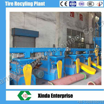 Hot Sell tire shredder tire recycling machine
