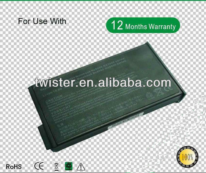 Replacement Laptop Battery for H P COMPAQ Evo N1033V COMPAQ Evo N1000 N1000C N1000V