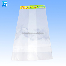 Wholesale cheap clear cello bags custom printing opp poly bag with header card