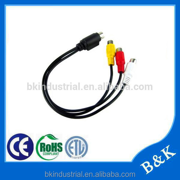 wide varieties rca male to male av cable made in China