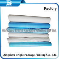 Disposable Paper Bed cover roll/Examination Paper Table Couch Cover Roll in beauty spa, hospital