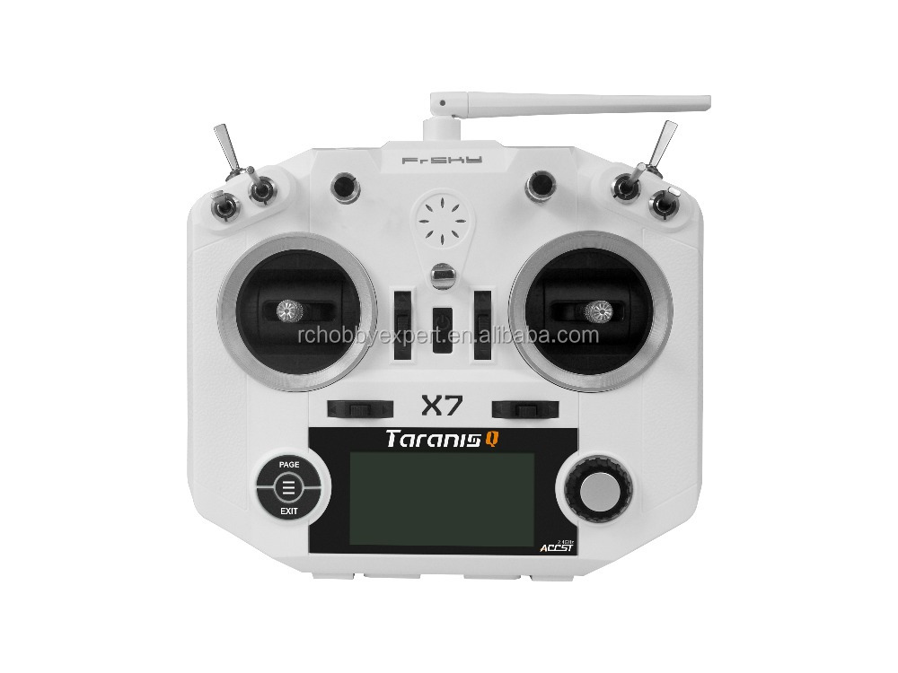 ACCST Taranis 2.4G White or Black FrSky <strong>Q</strong> X7 Transmitter