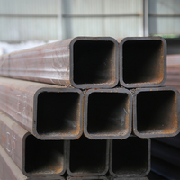 China manufacturer best price black hollow section carbon steel Q235 square tube