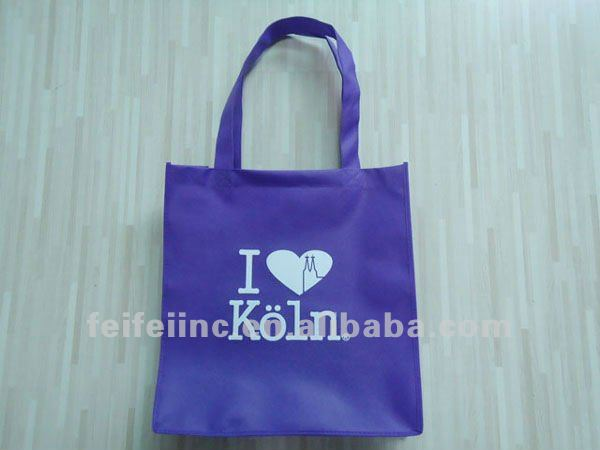 cheap printed non woven foldable shopping bag