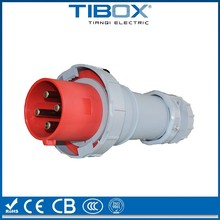 High strength factory supply industri 32a 5 pin plug socket