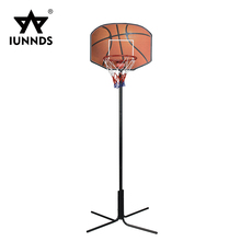 China portable indoor height adjustable basketball goal system hoop with stand