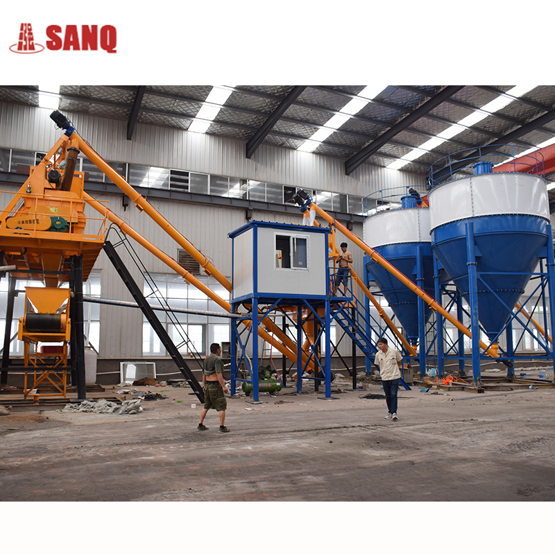 35m3/h hzs35 ready mixed concrete batching mixing plant for sale from Sanqgroup