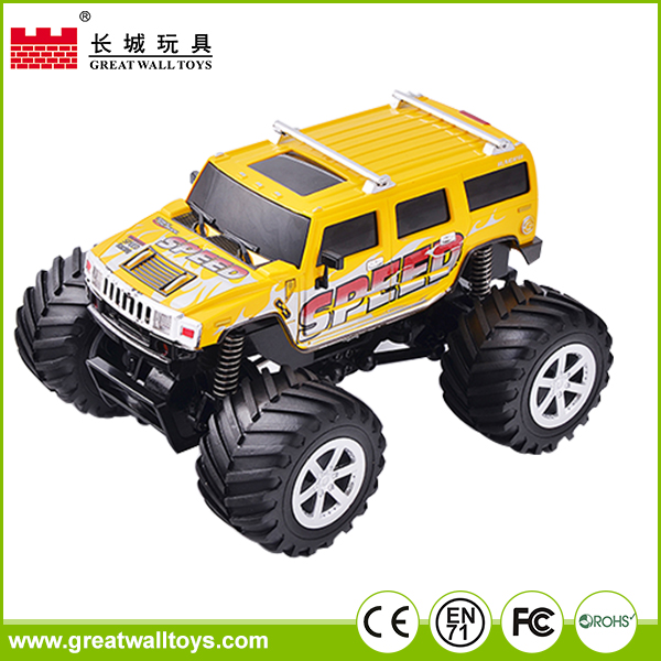 2017 New car 2.4G 4CH 1:34 large scale plastic rc truck