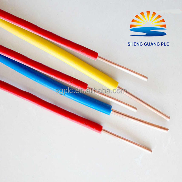 high quality CCA Wire Electrical House Wiring Single core Strand Copper Wire and cable
