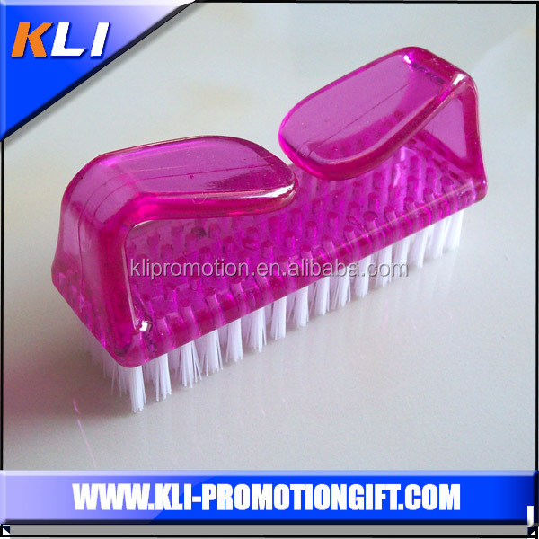 Nail brush & Foot shower brush with plastic handle