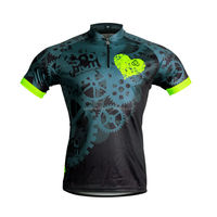 Loose design China Custom Cycling MTB Jersey Short Sleeve Quick Dry