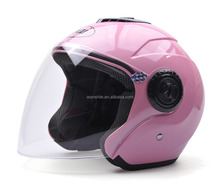 Solid style cool deisgn PP material motorcycle open face helmet