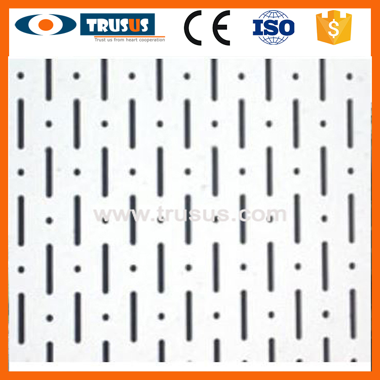 Superior Quality Build Materials Acoustic Tiles Ceiling 15Mm T Bar Ceiling Tiles