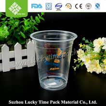 Food Grade Plastic Cup Logo Customized for Beverage