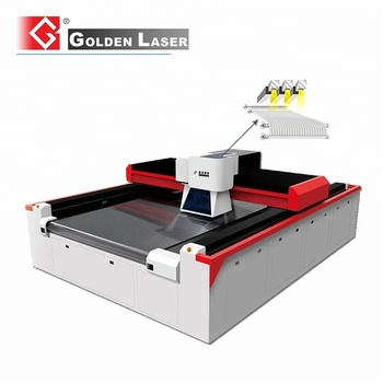 Roll to Roll Sandpaper Laser Perforating System with Three- Laser Sources
