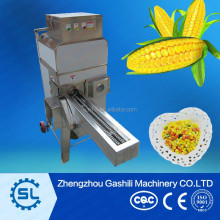 Corn peeler and thresher machine/corn peeling and threshing machine