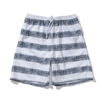 Cheap quick-dry stripe board shorts