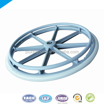 PU Wheel Tire for Wheelchair Wheel