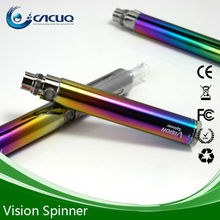high quality vision rainbow spinner battery vaporizers wholesale