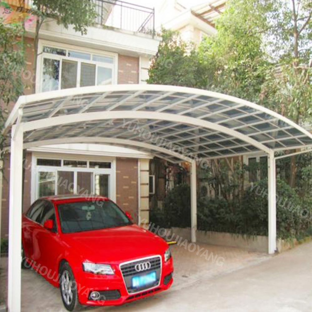 European Modern metal Pergola double Carport with Aluminium Frame