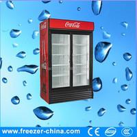 2 door commercial beverage and wine refrigerator glass door stainless steel back bar beverage refrigerator