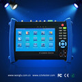 Touch screen 7 inch IP CCTV tester with Digital multimeter